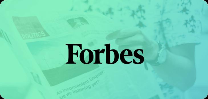 Logo de Forbes en degradé