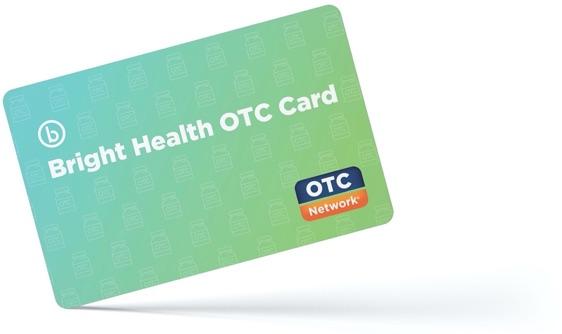 Plástico de la tarjeta OTC