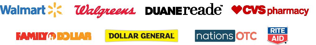 Logotipos de tiendas minoristas